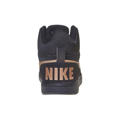 Sneakers da donna alla caviglia nike, nero, 509-6332 - 17