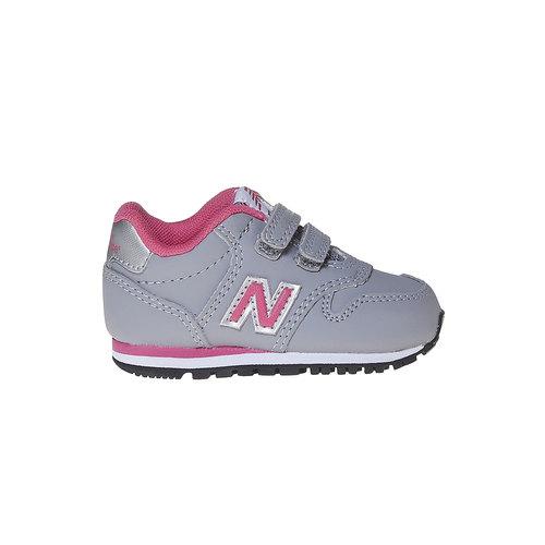 Sneakers grigie da bambino new-balance, grigio, 101-2500 - 15
