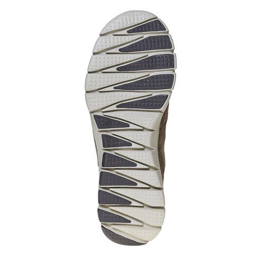 Sneakers da uomo in pelle skechers, marrone, 803-4351 - 26