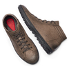 Sneakers uomo in vera pelle bata, marrone, 894-4295 - 19