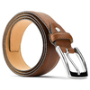Cintura in vera pelle bata, marrone, 954-3170 - 26