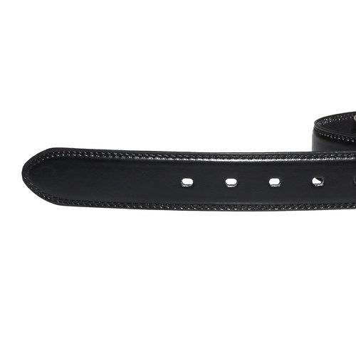 Cintura da uomo in pelle bata, nero, 954-6121 - 16