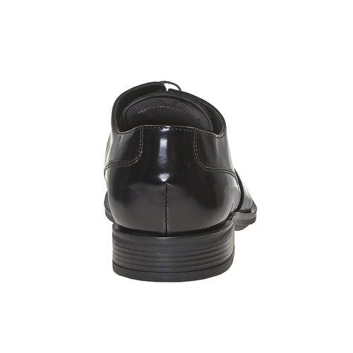 Scarpe basse da uomo in stile Derby bata, nero, 821-6430 - 17