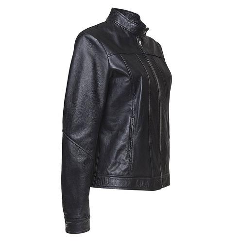 Giacca da donna in pelle bata, nero, 974-6146 - 16