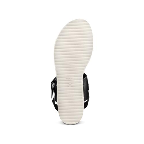 Sandali da donna bata, nero, 561-6295 - 19