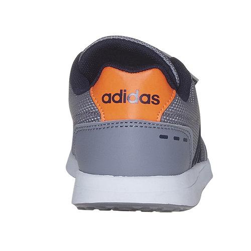 Sneakers grigie da bambino adidas, grigio, 309-2163 - 17
