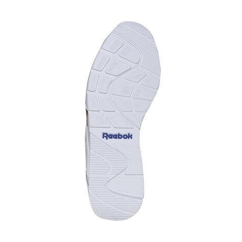 Sneakers da donna con dettagli dorati reebok, bianco, 504-1919 - 26