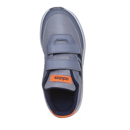 Sneakers grigie da bambino adidas, grigio, 309-2163 - 19