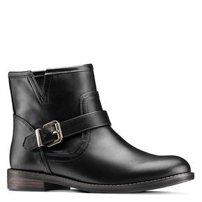 Ankle Boots da donna bata, nero, 591-6368 - 13