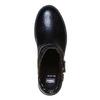 Stivaletti da donna sopra la caviglia con cinturino bata, nero, 591-6110 - 19
