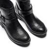 Scarpe da donna in stile motociclista bata, nero, 591-6368 - 17
