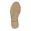 Stivali da bambina con perforazioni mini-b, oro, 391-8317 - 26