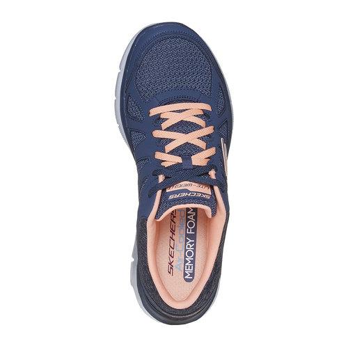 Sneakers sportive da donna skechers, blu, 509-9963 - 19