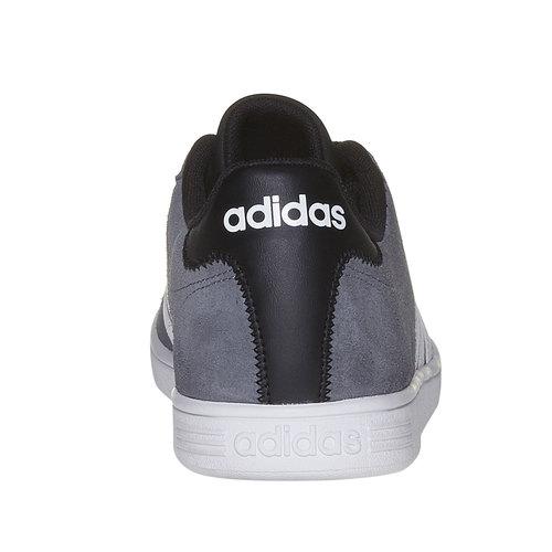 Sneakers da uomo in pelle adidas, grigio, 803-2222 - 17