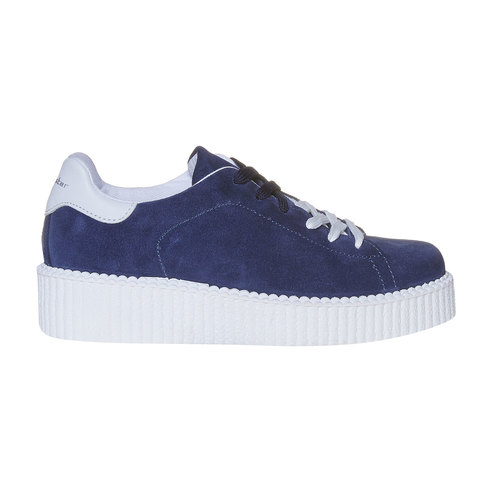 Sneakers da donna in pelle Creepers, viola, 523-9476 - 15