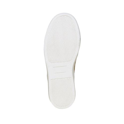 Sneakers da bambino di pelle, marrone, 313-3256 - 26
