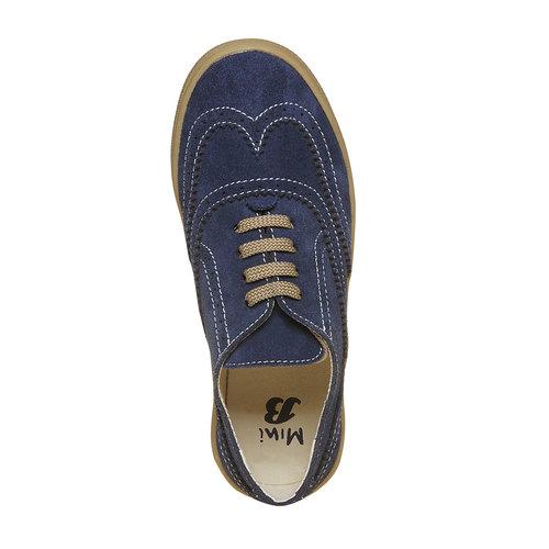 Sneakers da bambino in stile scarpe basse, blu, 313-9256 - 19
