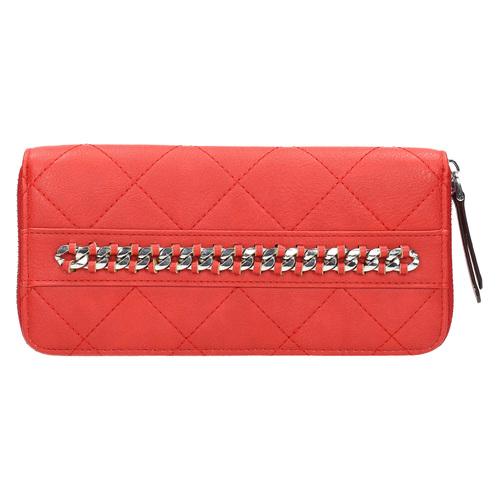Portafoglio rosso con catenina bata, rosso, 941-5146 - 26
