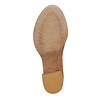Stivaletti da donna con perforazioni bata, marrone, 794-3541 - 26