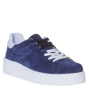 Sneakers da donna in pelle Creepers, viola, 523-9476 - 13