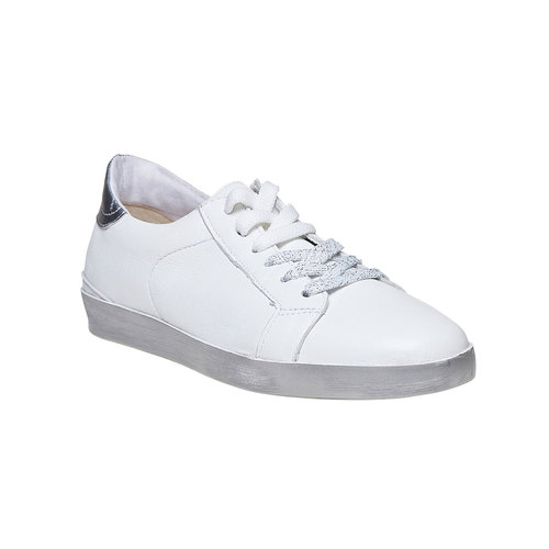 Sneakers bianche casual north-star, bianco, 544-1206 - 13