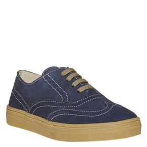 Sneakers da bambino in stile scarpe basse, blu, 313-9256 - 13