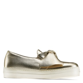 Slip on gold in pelle north-star, oro, 514-8264 - 13