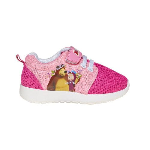 Sneakers rosa da bambina, rosso, 229-5192 - 15