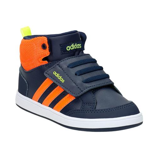 Sneakers da bambino sopra la caviglia adidas, blu, 101-9253 - 13