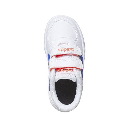 Sneakers da bambino con chiusure a velcro adidas, blu, 101-9254 - 19