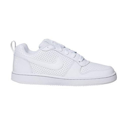 Sneakers bianche con perforazioni nike, bianco, 501-1333 - 15