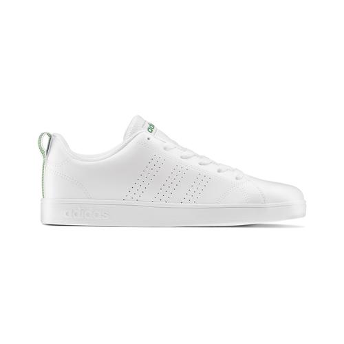 Sneakers bianche da bambino adidas, verde, bianco, 401-1233 - 26