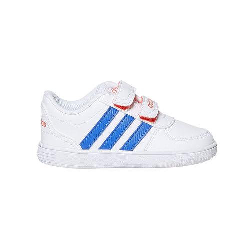 Sneakers da bambino con chiusure a velcro adidas, blu, 101-9254 - 15