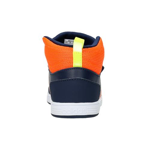 Sneakers da bambino sopra la caviglia adidas, blu, 101-9253 - 17