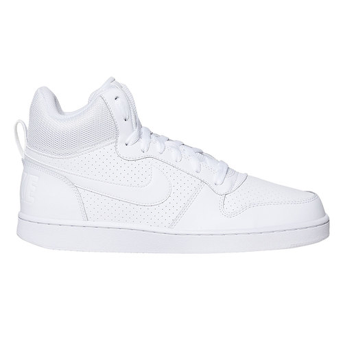 Sneakers bianche alla caviglia nike, bianco, 801-1332 - 15