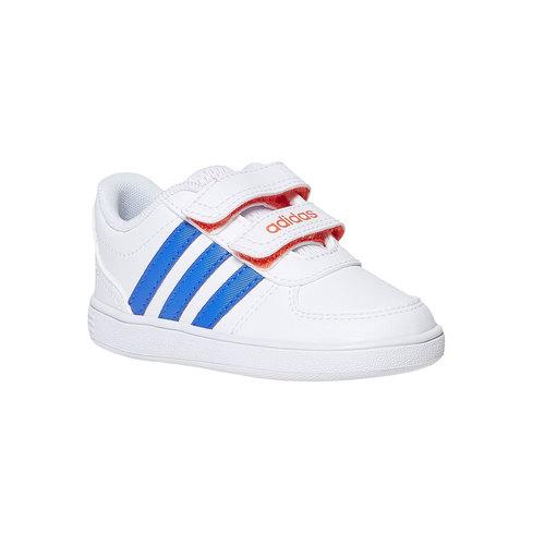 Sneakers da bambino con chiusure a velcro adidas, blu, 101-9254 - 13