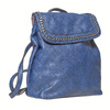 Zaino azzurro trapuntato bata, blu, 961-9507 - 13