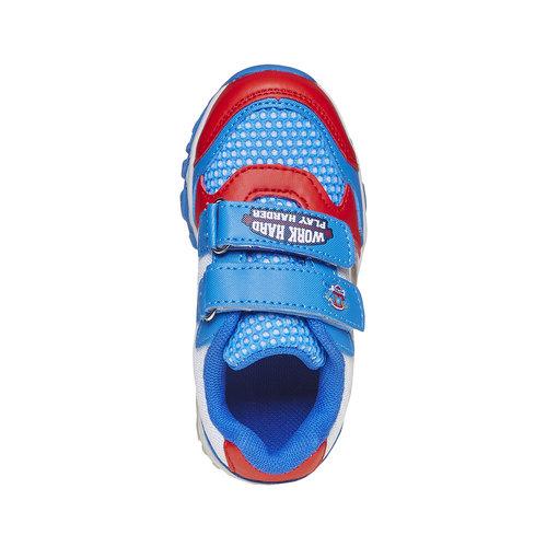 Sneakers da bambino con motivo, blu, 219-9175 - 19