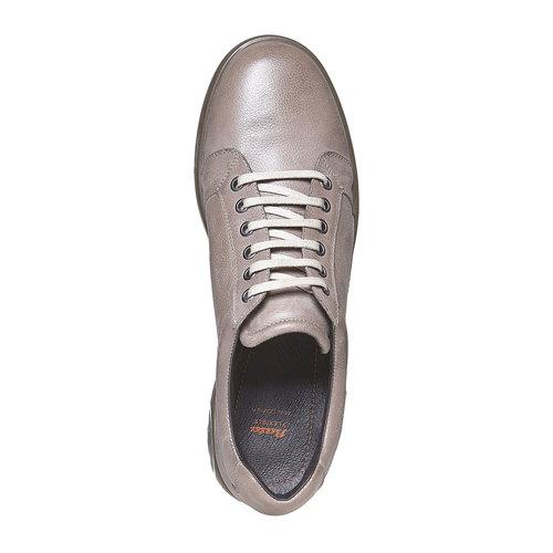 Sneakers in pelle da uomo flexible, grigio, 844-2709 - 19