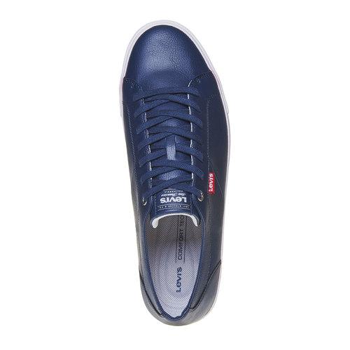 Sneakers casual da uomo levis, blu, 841-9513 - 19