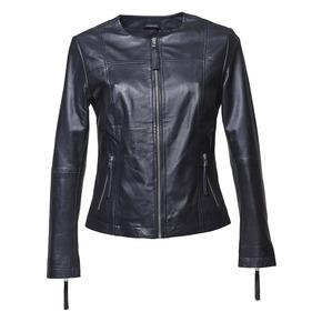 Giacca elegante di pelle bata, nero, 974-6312 - 13
