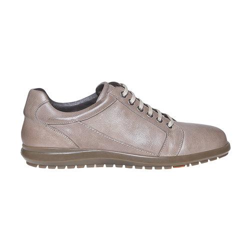 Sneakers in pelle da uomo flexible, grigio, 844-2709 - 15