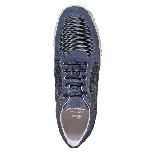 Sneakers casual da donna bata, blu, 523-9583 - 19