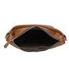 Borsetta in pelle con cinghia bata, marrone, 964-3121 - 15