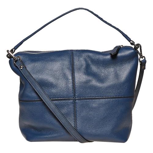 Borsetta di pelle in stile Hobo bata, blu, 964-9121 - 26