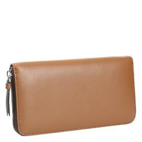 Portafoglio da donna in pelle bata, marrone, 944-3178 - 13