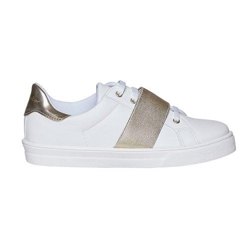 Sneakers con cinturino sul collo del piede north-star, bianco, 541-1276 - 15