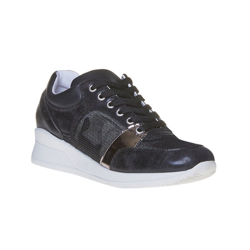 Sneakers nere da donna north-star, nero, 541-6205 - 13