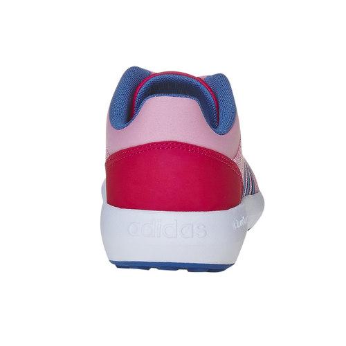 Sneakers sportive rosa da bambina adidas, rosa, 409-5172 - 17