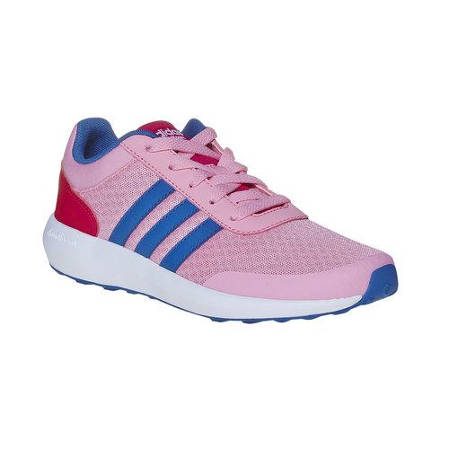 Sneakers sportive rosa da bambina adidas, rosa, 409-5172 - 13